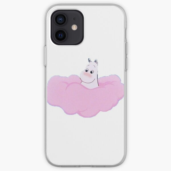 moomin on a cloud iPhone Soft Case