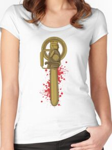 Hand of the King, baby! Women's Fitted Scoop T-Shirt