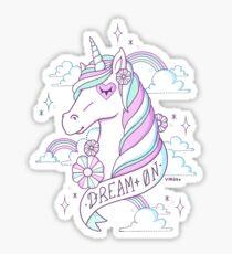 Dream on Sticker