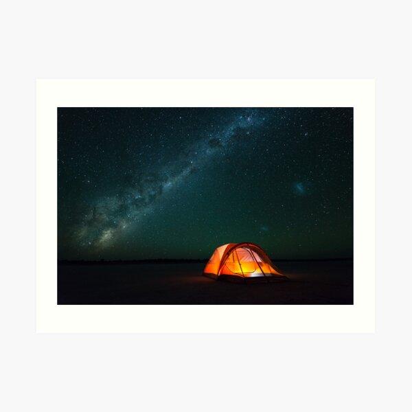 Gone Camping - Great Victoria Desert, Western Australia Art Print