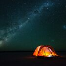 Gone Camping - Great Victoria Desert, Western Australia by Liam Byrne