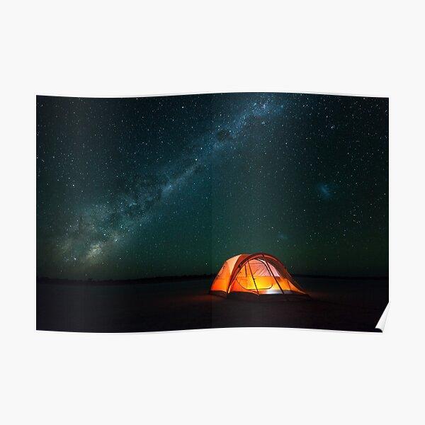 Gone Camping - Great Victoria Desert, Western Australia Poster
