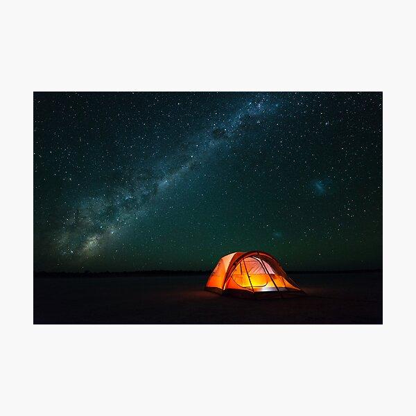 Gone Camping - Great Victoria Desert, Western Australia Photographic Print