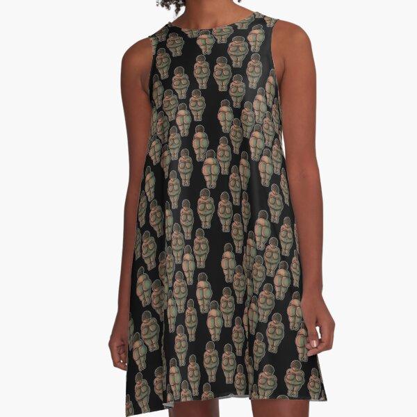 Venus of Willendorf A-Line Dress
