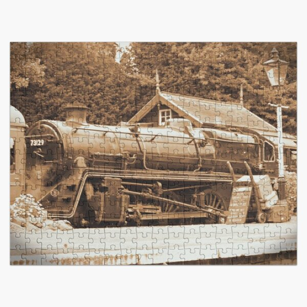 Steam past and present  Jigsaw Puzzle