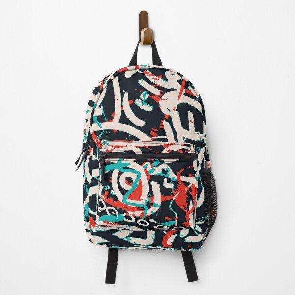 Street Art Graffiti Pattern Ink and Posca  Backpack
