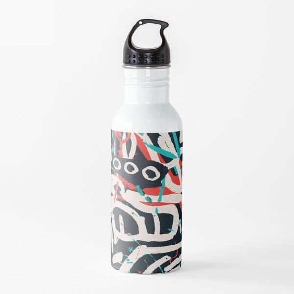 Street Art Graffiti Pattern Ink and Posca  Water Bottle