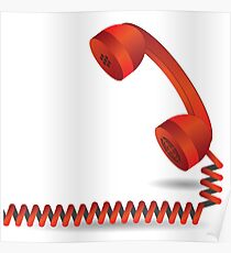 red telephone Poster