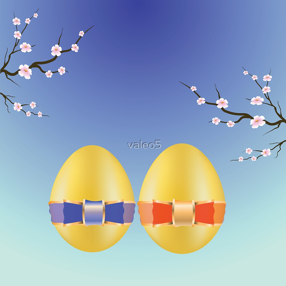 two easter eggs by valeo5