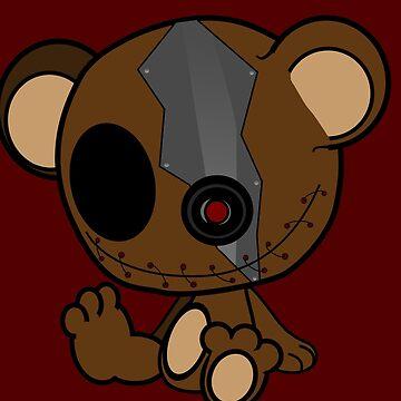 Secrete Bear by Unsanitaryprod