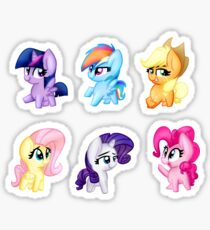 Mane 6 Cuties Sticker