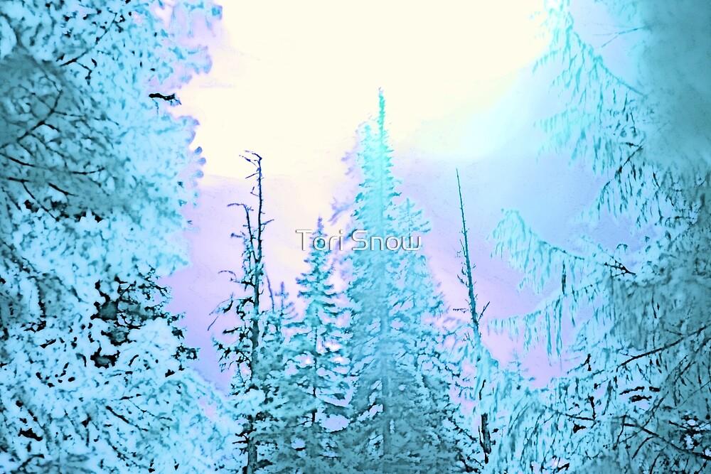 Forzen Forest by Tori Snow