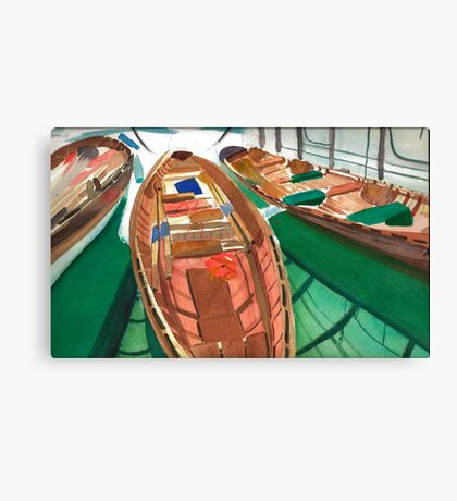 The Three Little Gigs Canvas Print