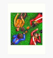 Eureka Stockade Art Print