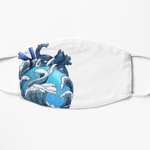 Beneath the Waves Flat Mask