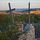 Terlingua Cemetery Easter Sunset by Cathy Jones