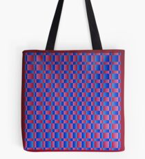 Vague Blur (Red/Blue) Tote Bag