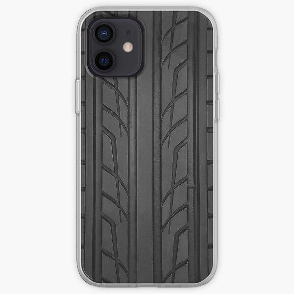 Sección del neumático de carreras Funda blanda para iPhone