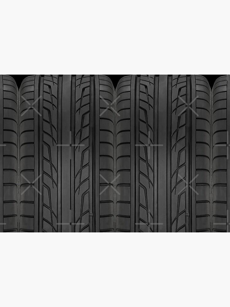 «Section des pneus de voiture de course» par ideasfinder