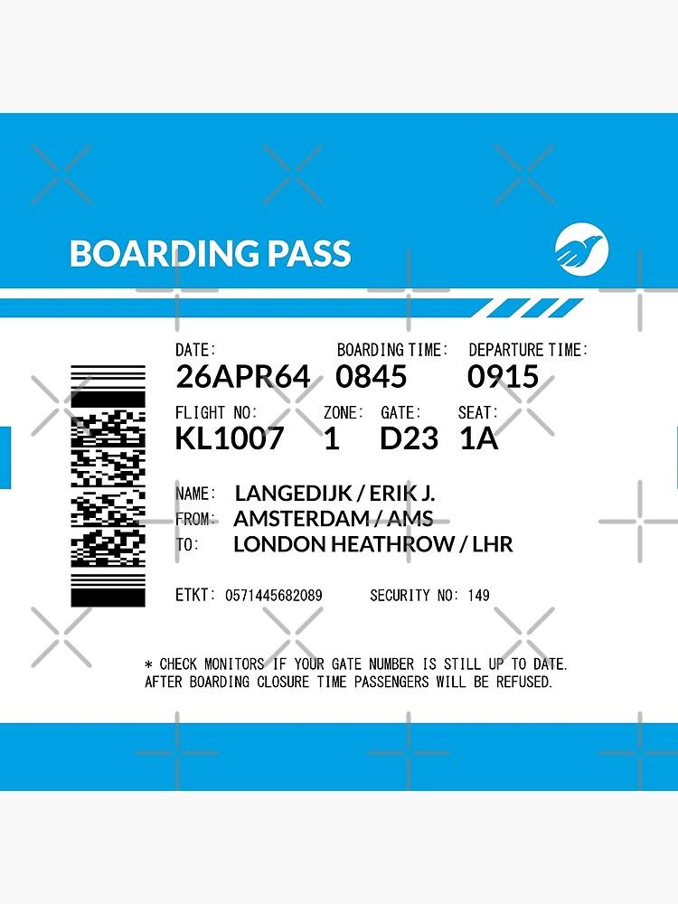 Boarding Pass 5748X5748 (RLG) by twgcrazy