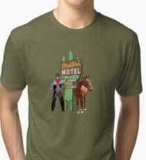 western motel Tri-blend T-Shirt