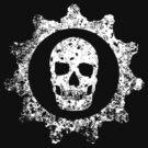 Scary Gear Skull by 5thcolumn