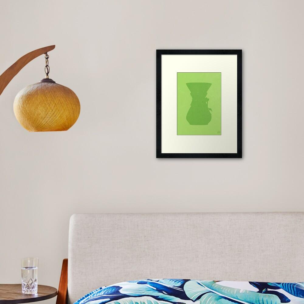 The Brew Series: CHEMEX Framed Art Print