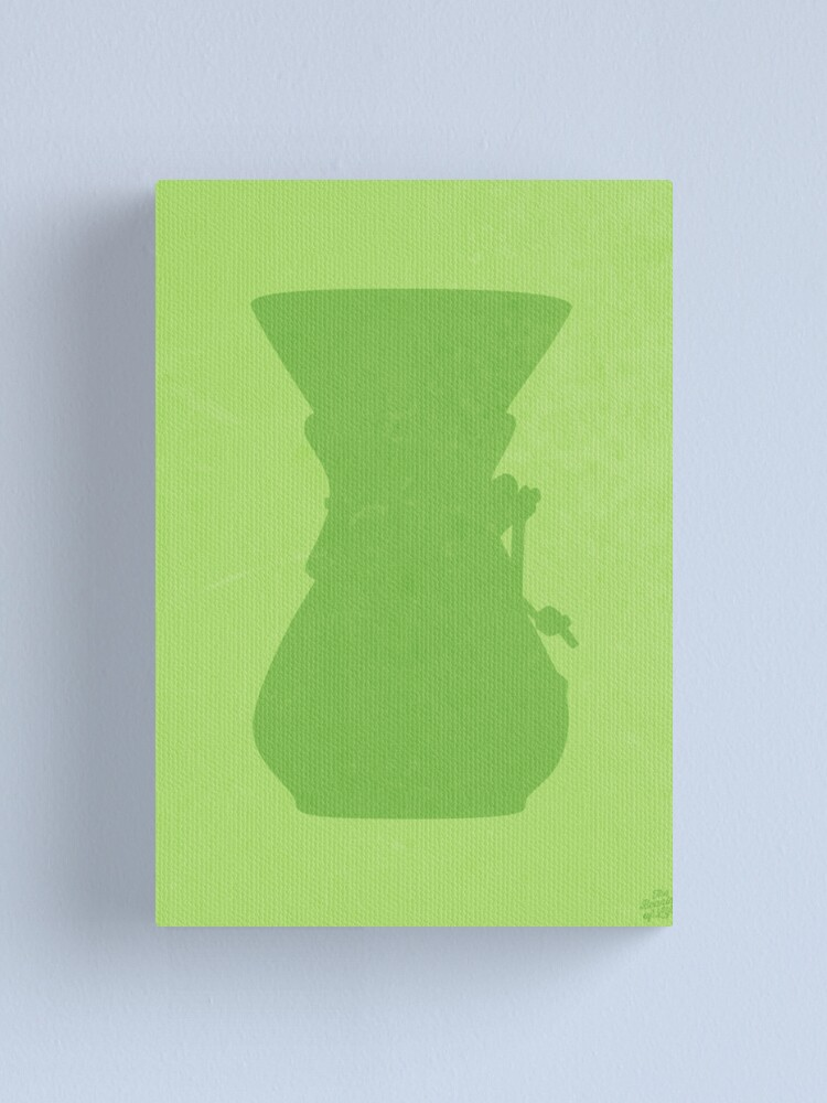 Alternate view of The Brew Series: CHEMEX Canvas Print