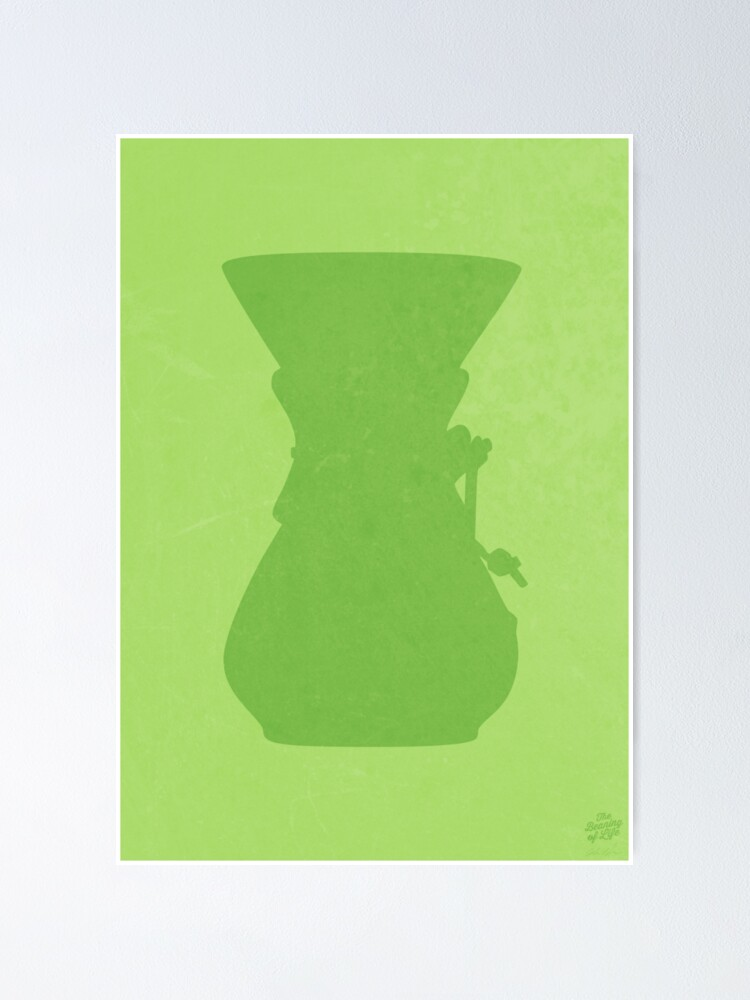 Alternate view of The Brew Series: CHEMEX Poster