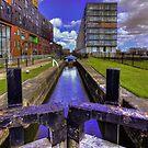 Lock 3 Ashton Canal by inkedsandra