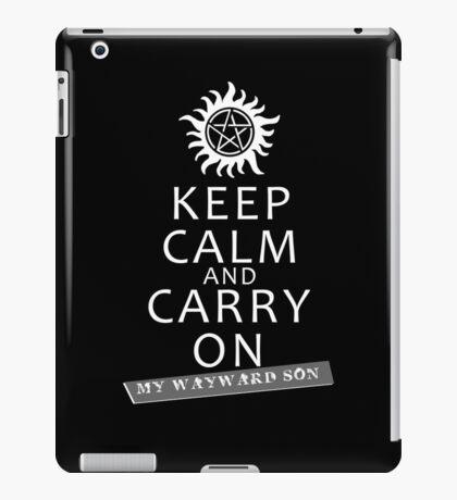 Keep Calm 2 iPad Case/Skin