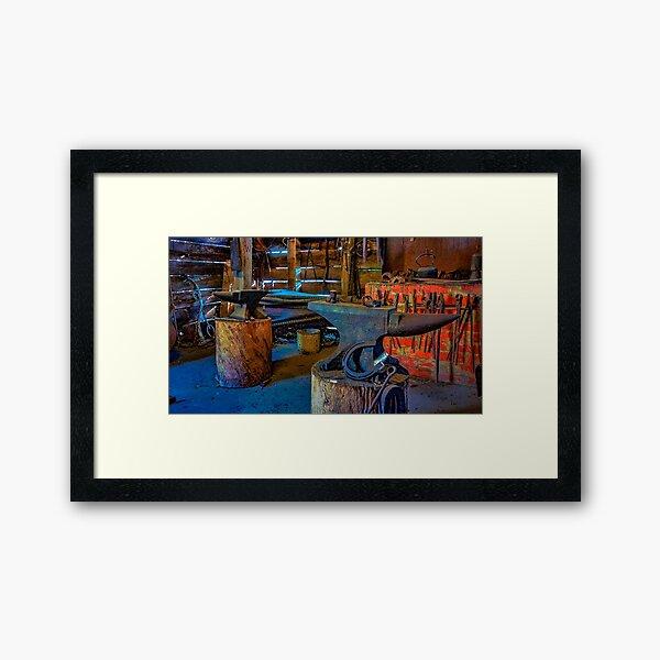 Ned's Workshop Framed Art Print