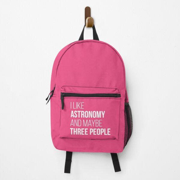 I like Astronomy and maybe three people for Women Backpack