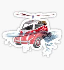 isetta all terrain vehicle Sticker