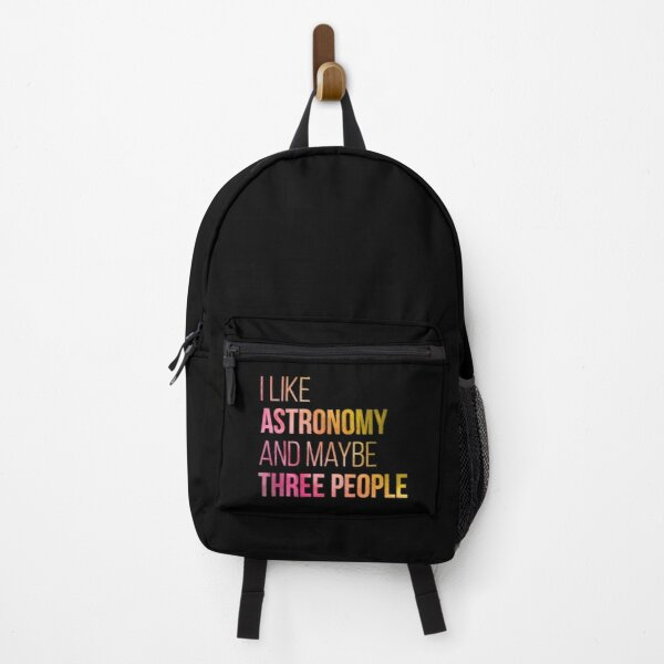 I like Astronomy and maybe three people in Watercolor Backpack
