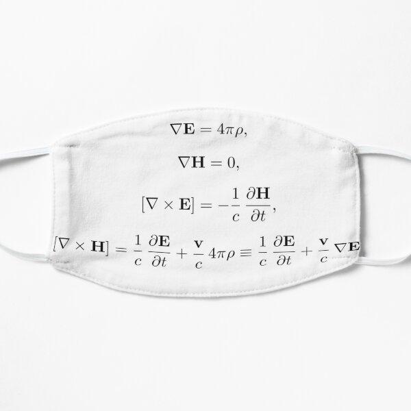Physics, Electromagnetism Flat Mask