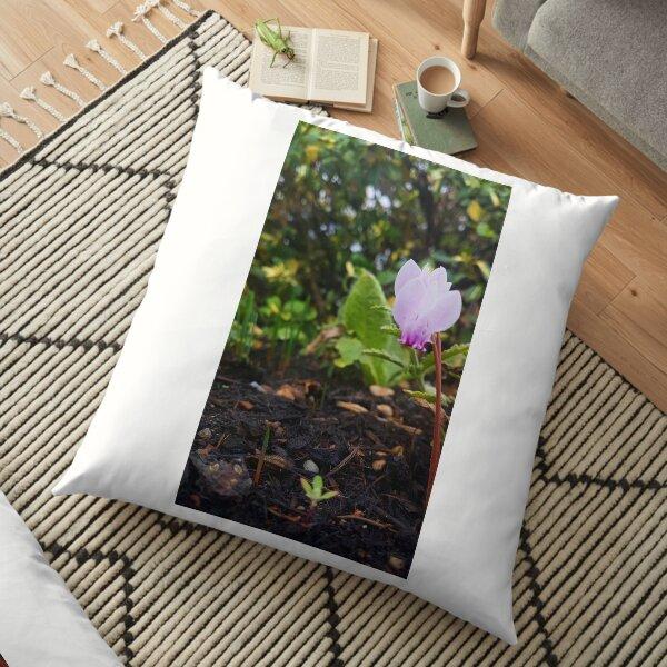 Flower garden Floor Pillow