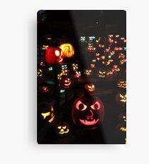 Jack-O-Lanterns 4 Metal Print