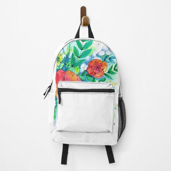 Random Flowers Backpack