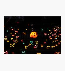 Jack-O-Lanterns 5 Photographic Print