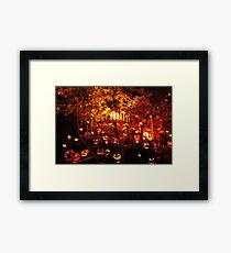 Jack-O-Lanterns 10 Framed Print
