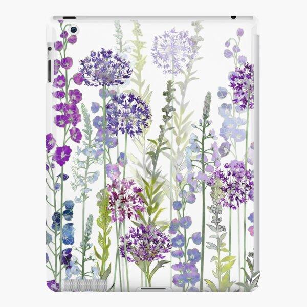 Purple Flower Meadow - Alliums, Delphiniums & Veronica Gentianoides iPad Snap Case