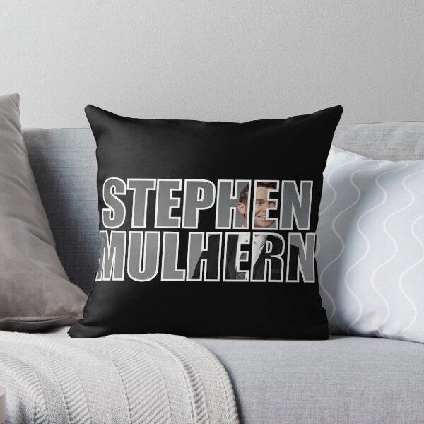 Stephen Mulhern Throw Pillow