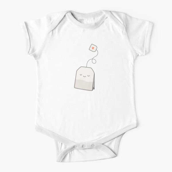 Tea time Short Sleeve Baby One-Piece