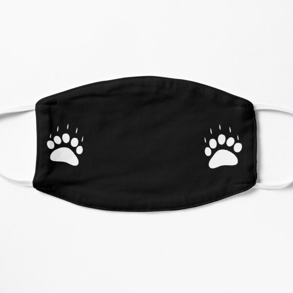 Harbour City Bears Paws Flat Mask