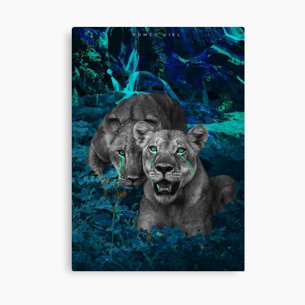 Paradis du Lion Impression sur toile