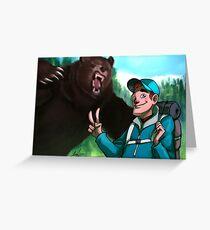 Kodiak Moment Greeting Card