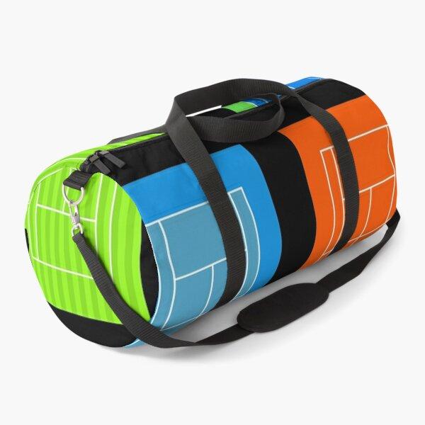 Tennis Courts Duffle Bag
