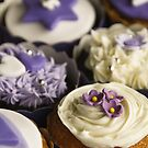 Purple Birthday Cupcakes by Framed-Photos