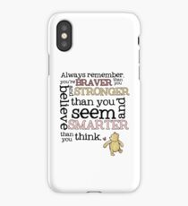 Braver than you believe iPhone Case/Skin
